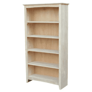 "INC International Concepts 60"" Solid Hardwood 5-Shelf Bookcase for $203"