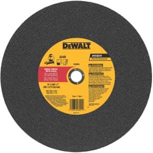 "DeWalt 14"" General Purpose Chop Saw Wheel for $6"