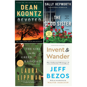 Kindle Monthly Deals at Amazon: from $1