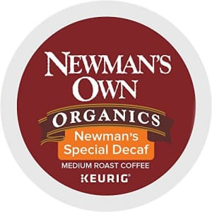 Newman's Own Organics Newman's Special Decaf K-Cup Coffee,72 count for $19
