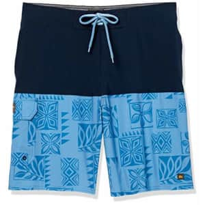 Quiksilver Waterman Men's Malama Bay Boardshort, Navy Blazer, 31 for $56