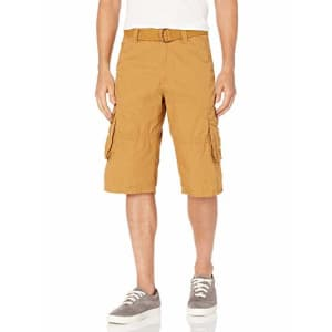 Southpole Men's Shorts, Wheat, 36 for $20