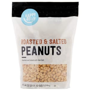 Happy Belly 44-oz. Roasted and Salted Peanuts for $4.88 via Sub & Save