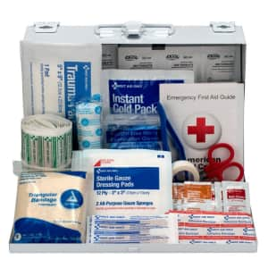 First Aid Only 179-Piece Contractor's First Aid Kit for $34