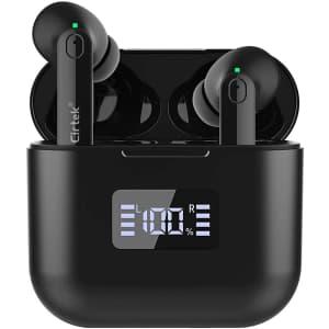 Cirtek Wireless Bluetooth Earbuds for $19