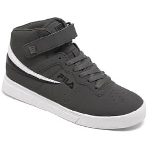 Fila Men's Vulc 13 Mid Plus Casual Sneakers for $30
