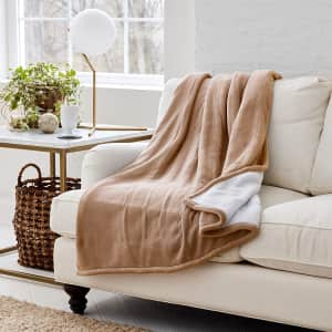 Eddie Bauer Smart Heated Electric Throw Blanket for $22