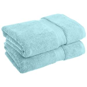 SUPERIOR Solid Egyptian Cotton 2-Piece Bath Towel Set for $35