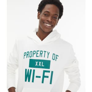 Aeropostale Men's Property of Wi-Fi Pullover Hoodie for $10