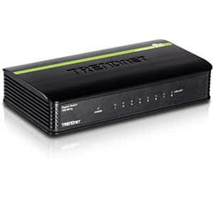 TRENDNet TEG-S81g 8-port unmanaged gigabit switch for $55