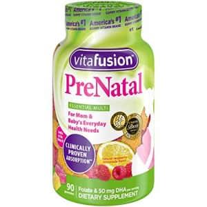 Vitafusion Prenatal Gummy Vitamins, 90 Count (Packaging May Vary) for $17