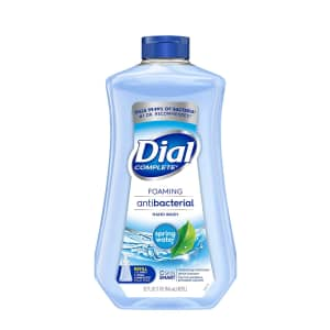 Dial Complete Foaming Antibacterial Hand Soap 32-oz. Refill for $2.79 via Sub & Save