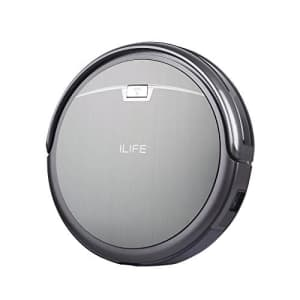 ILIFE A4s Robot Vacuum Cleaner Titanium Gray (Renewed) for $104