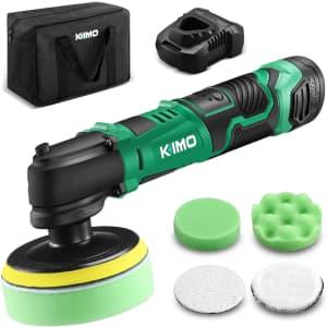 Kimo Cordless Buffer/Polisher Kit for $90