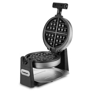 Cuisinart WAF-F10 Maker Waffle Iron, Single, Stainless steel for $60