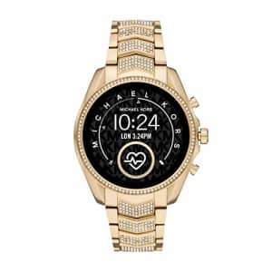 Michael Kors Women's Bradshaw 2 Stainless Steel Touchscreen Smartwatch, Color: Gold (Model: for $425