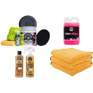Chemical Guys Car Wash Kits and Accessories at Amazon: Up to 69% off w/ Prime