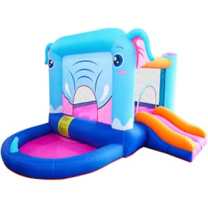 Doctor Dolphin Inflatable Bounce House for $156