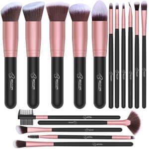 Bestope 16-Piece Makeup Brush Set for $10