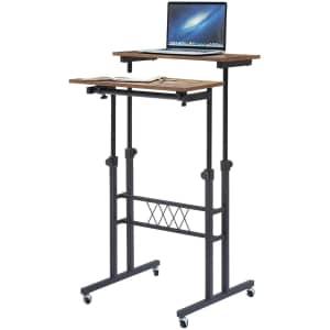 Vecelo Adjustable Stand-Up Desk for $65