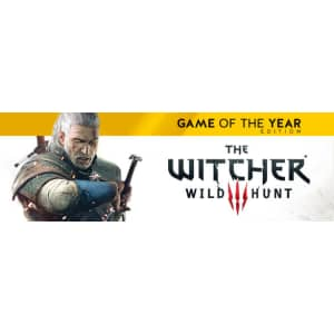 Witcher 3: Wild Hunt GOTY for PC: $9.99