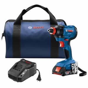 Bosch GDX18V-1600B12 18V Freak 1/4 In. and 1/2 In. Two-In-One Bit/Socket Impact Driver Kit for $88
