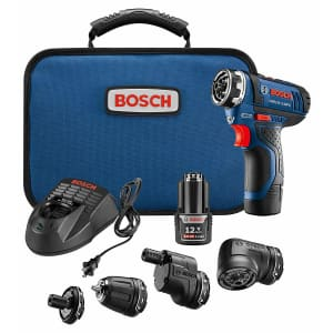 Bosch 12V Max. Brushless Flexiclick 5-In-1 Drill/Driver System for $149
