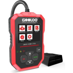 Gooloo OBD2 Automotive Scanner for $45