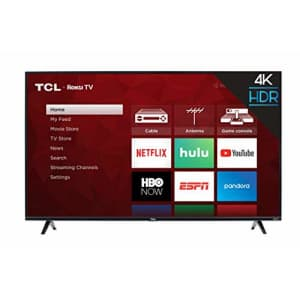 TCL 55S425 55 inch 4K Smart LED Roku TV (2019) for $502