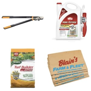 Blain's Farm & Fleet Fall Lawn & Leaf Clean-Up: Deals from $1.99