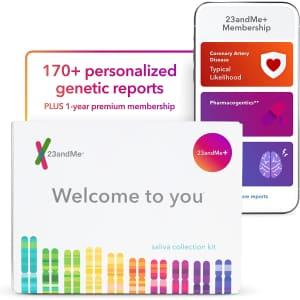 23andMe+ Premium Membership Bundle for $229