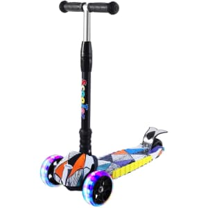 Sulives Scooter with Light-Up Wheels for $32