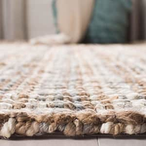 Safavieh Natural Fiber Collection NF447K Handmade Chunky Textured Premium Jute 0.75-inch Thick for $21