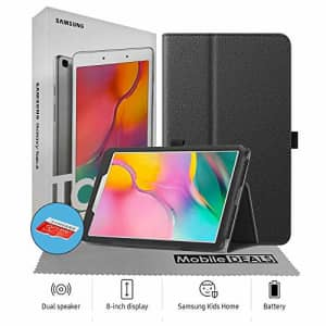 Samsung Galaxy T290 Tab A 8-Inch 32 GB WiFi Android 9.0 Touchscreen Tablet Silver (2019) Bundle - for $175