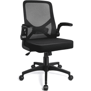 iCoudy Mid-Back Mesh Office Chair w/ Lumbar for $55
