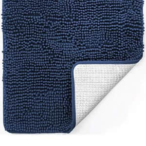 Gorilla Grip Original Luxury Chenille Bathroom Rug Mat, 17x24, Extra Soft and Absorbent Shaggy for $20