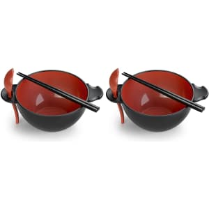 Ozeri Earth Made-from-a-Plant Ramen Bowl 6-Piece Set for $25
