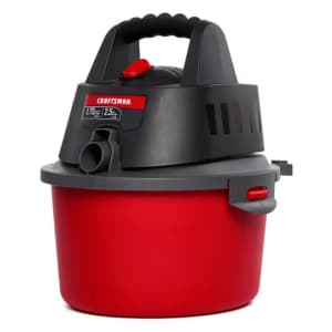 Craftsman 2.5-Gallon 1.75 HP Wet/Dry Vac for $24 for members