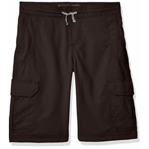Lee Jeans Lee Big Boy Proof Pull-On Crossroad Cargo Short, Gunsmoke, 14 Regular for $25