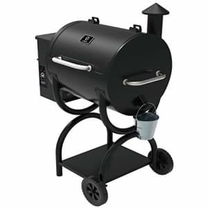 Z GRILLS ZPG-550A 2020 New Model Wood Pellet Grill & Smoker 6 in 1 BBQ Grill Auto Temperature for $398
