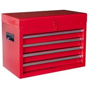 BIG RED ATBT1204R-RED Torin Rolling Garage Workshop Tool Organizer: Detachable 4 Drawer Tool Chest for $101