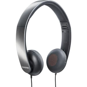 Shure Portable Collapsible Headphones for $13