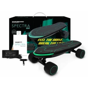 Swagtron Spectra Pro Electric Skateboard for $280