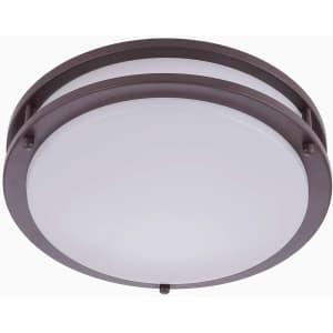 """Neous 12"""" LED Flush Mount Ceiling Light for $33"""