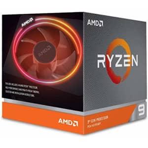 AMD Ryzen 9 3900X 12-core, 24-thread unlocked desktop processor with Wraith Prism LED Cooler for $462