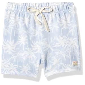 Billabong Girls' Palms All Day Short, Clear Sky, M for $14