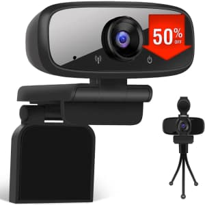 LarmTek USB Webcam with Privacy Shutter for $12