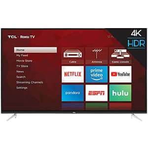 "TCL 65"" Class (64.5"" Diag) 4K UHD ROKU LED LCD (65S423) for $740"