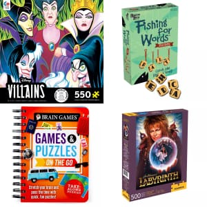 Games and Puzzles at Kohl's: 30% off + Kohl's Cash