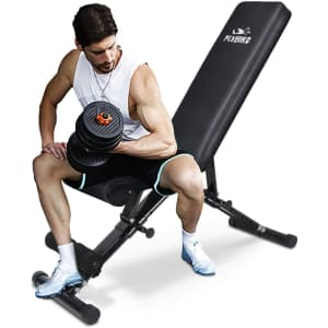 Flybird Adjustable Strength Weight Training Bench for $150